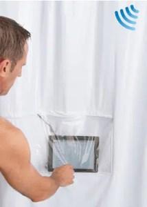 iPad Musical Shower Curtain