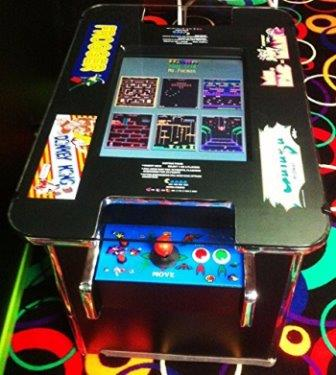 Arcade Cocktail Table Multicade 60 GAMES IN ONE!