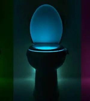 IllumiBowl Toilet Night Light (Motion Activated)