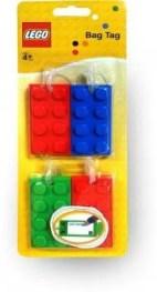 LEGO Luggage Tag