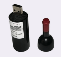 Wine Bottle USB Flash Drives
