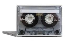 Cassette Tape Laptop Skins