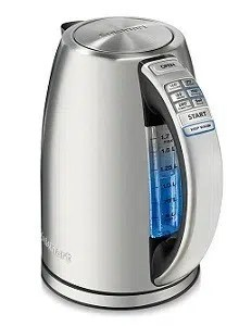Cuisinart Perfect Temp Cordless Programmable Kettle, Stainless Steel