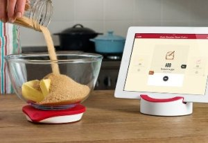 Drop Kitchen Non-Slip Silicone Connected Kitchen Scale and Interactive Recipe App