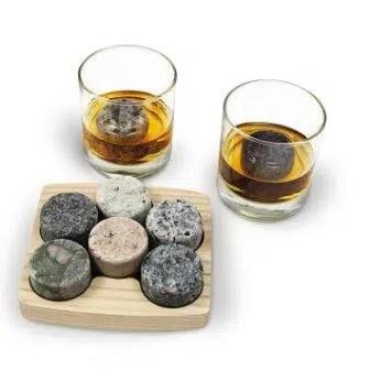 "Granite Whiskey Chilling Stones ""On the Rocks"""
