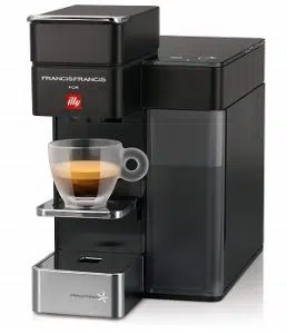 Illy Y5 Espresso & Coffee Machine, Bluetooth, Amazon Dash Replenishment Enabled