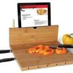 kitchen gadgets devices iPad Recipe Cutting Board