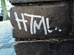 html web design elements