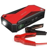 Portable Car Jump Starter Battery Booster and Phone Charger with Smart Charging Port