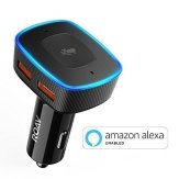 Roav VIVA, by Anker, Alexa-Enabled 2-Port USB Car Charger for In-Car Navigation, Hands-Free Calling and Music Streaming