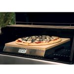 Pizzacraft PizzaQue Stone Grill with Thermometer Base