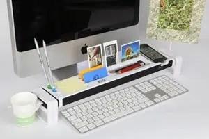 Cyanics iStick Multifunction Desk Organizer with 3 Hub USB Port, Cup Holder, Card Reader, Letter Opener, Paper Holder and more