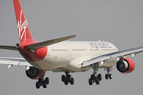 Virgin Atlantic statistics