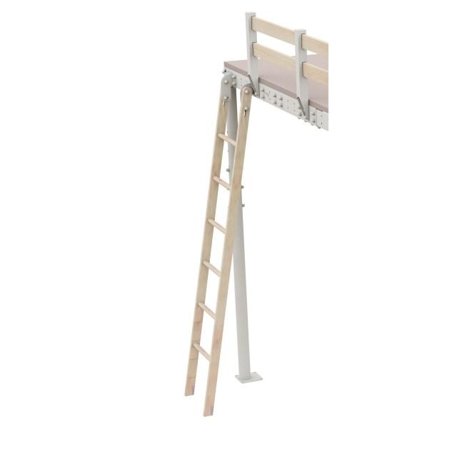 DIY Wooden Ladder Loft Bed Kit | Expand Furniture