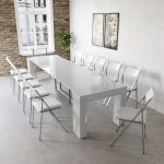 Cubist Table With Built In Extension Storage Expand Furniture Folding Tables Smarter Wall Beds Space Savers