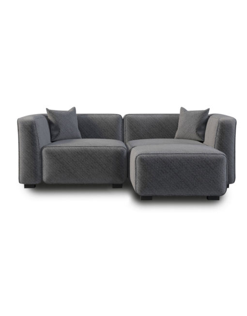 The Soft Cube Love Seat 2 Person Sofa Expand Furniture