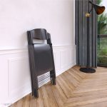 Magro Folding Chairs X 4 Matte Grey