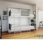Hidden Bunk Beds That Fold Flat Save Space