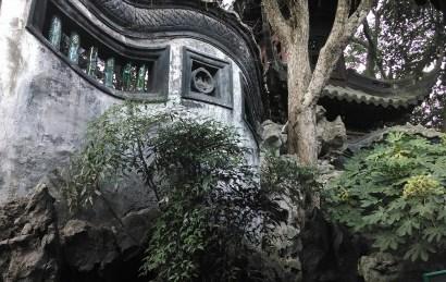 Garden in Shanghai. Photo by Leisa DeCarlo.