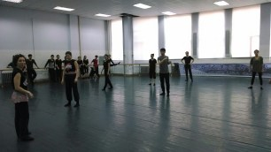 Dancing at Changchun University. Photo by Leisa DeCarlo.