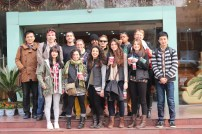 The gang at Wuhan University. Photo by Bob Eckhart.
