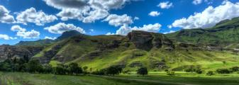 Hilly landscape of the Butha-Buthe region of Lesotho. Lesotho, officially the Kingdom of Lesotho, is a landlocked country and enclave.