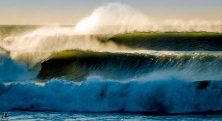 waves Seaside Oregon