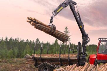 Komatsu Forest blir koldioxidneutral