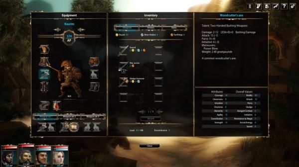 Blackguards Character Sheet