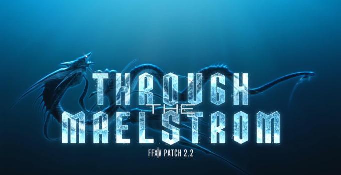 FINAL-FANTASY-XIV-Patch-2.2-Through-the-Maelstrom-Logo