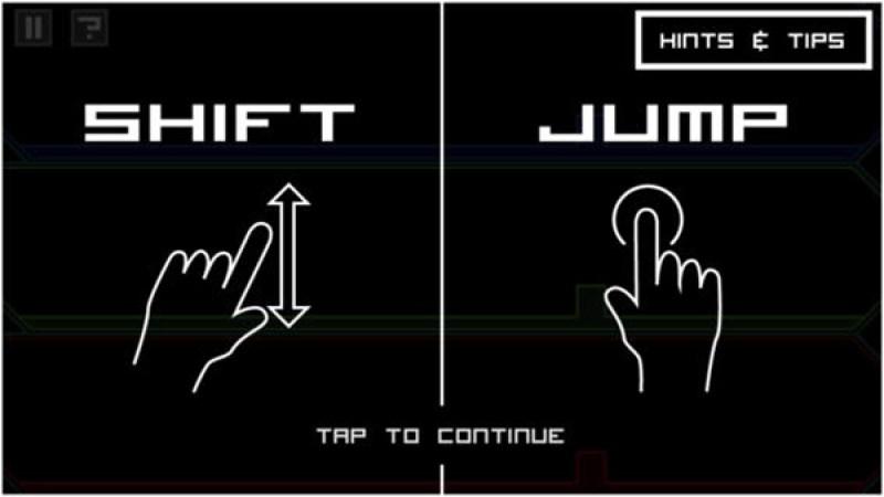 ShiftJump - Controls