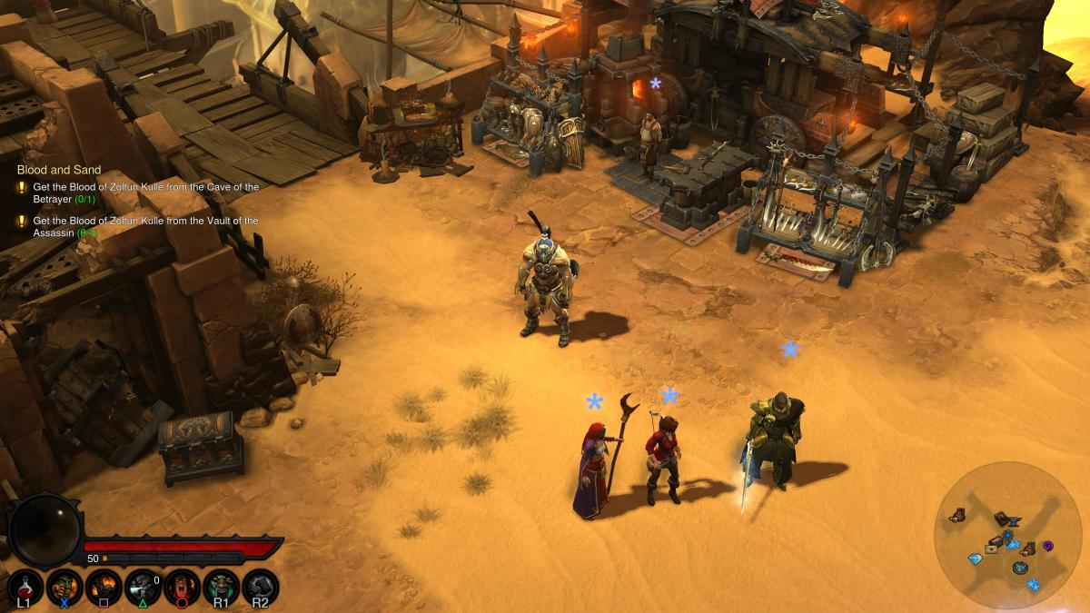 Diablo 3 1.15 adds PS4 Pro Support