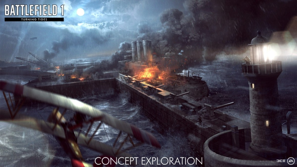 Battlefield 1 turning tides with new maps and weapons