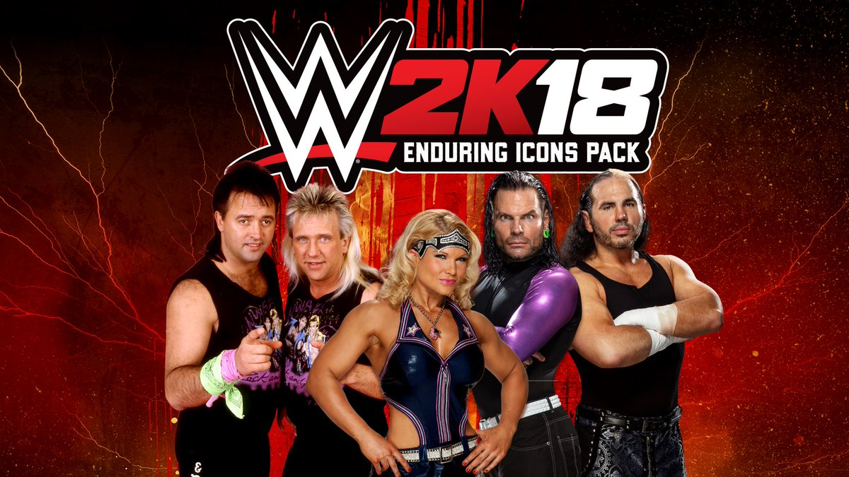 WWE 2K18 Enduring Icons DLC releases January 16