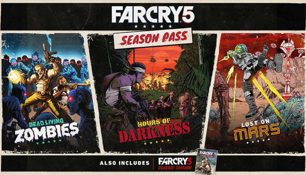 Far Cry 5 Season Pass Trailer confirms Blood Dragon dev involvement