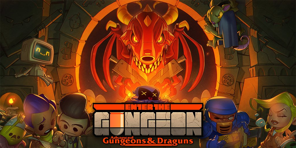 Enter the Gungeon Advanced Gungeons and Draguns Free Update drops July 17