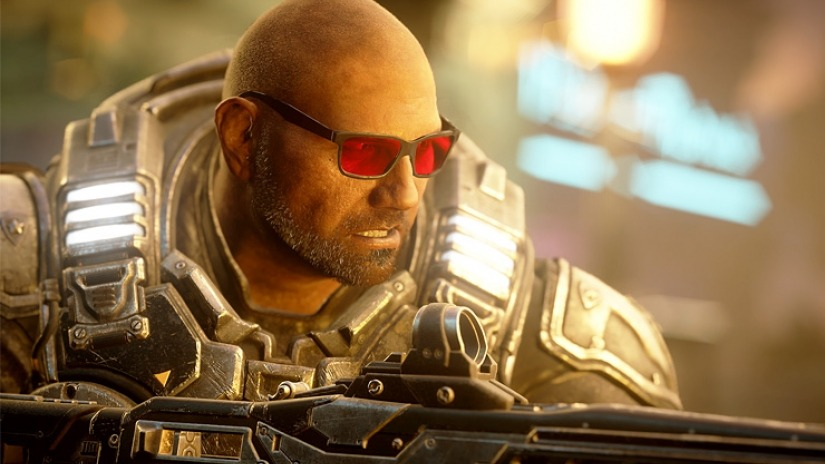 Dave Bautista Will Be Playable in Gears 5 Later This Month