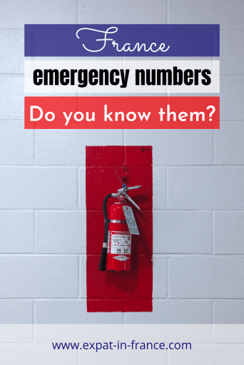 France emergency numbers