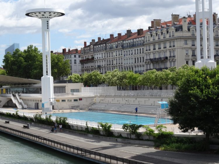 Lyon off the beaten track swimming pool