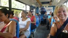 I love my blue bus!