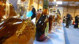 Beautiful bottles of cognac