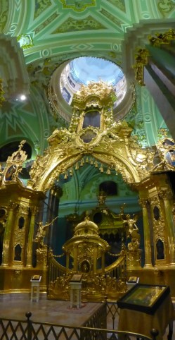 Inside the Peter and Paul Fortress