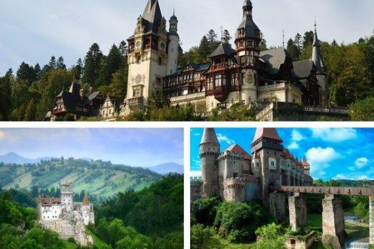 beautiful castles in Romania