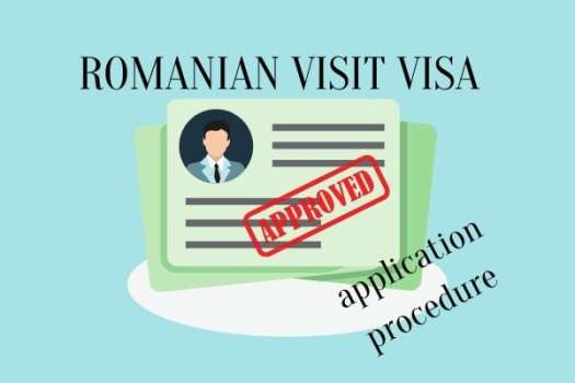 Romanian visit visa application procedure - no invitation approval required