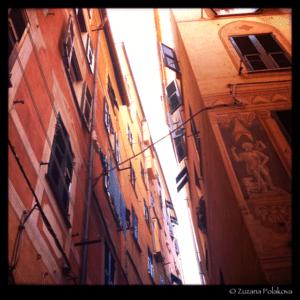Street in Camogli