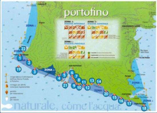 Map of Portofino