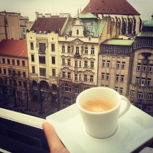 Prague coffee