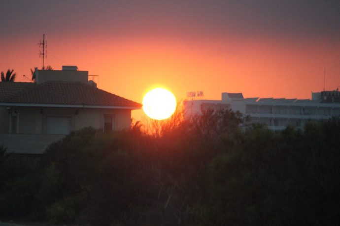 Sunset in Cyprus