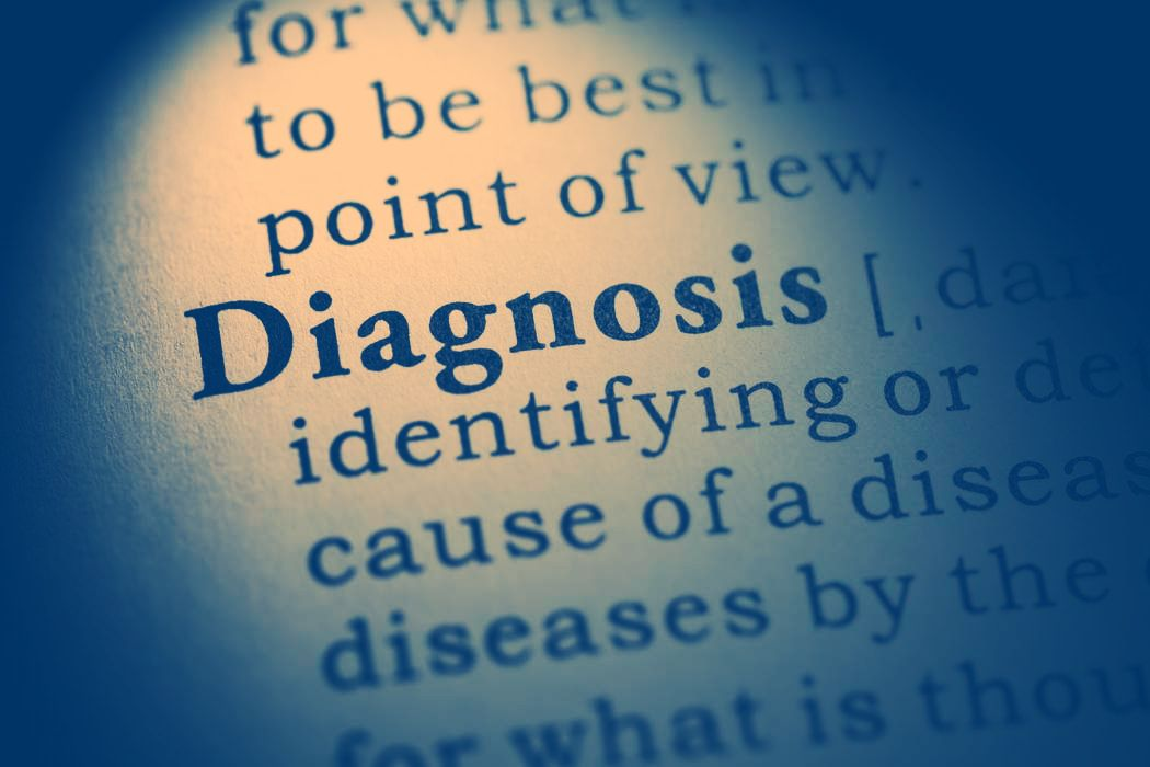 Dictionary definition of 'Diagnosis'