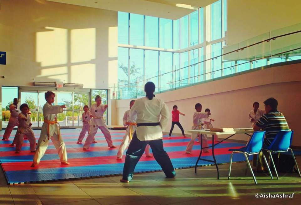 Taekwondo Belt-Grading at the Abilities Centre